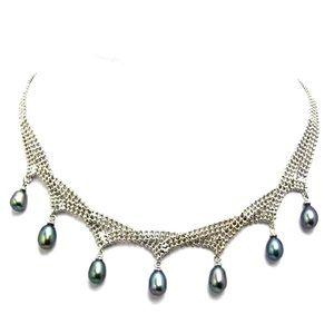 Jewelry - ✨NEW✨ Silver Cascada Pearl Necklace✨